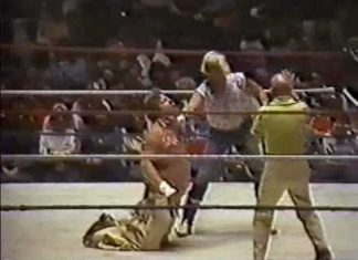 Austin Idol vs Stan Hansen (Bunkhouse Match, 10-10-83, Best Quality) Memphis Wrestling