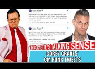 Corey Graves' Tweets Over CM Punk Ditching His Friends - Jim Cornette