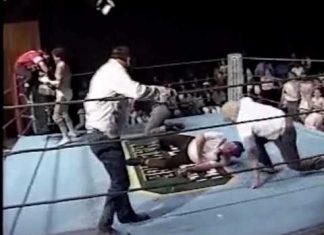Eddie Marlin, Tommy Gilbert - Bloody Boot Match Promo (4-2-88) Memphis Wrestling
