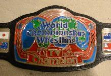 Georgia Championship Wrestling Television Championship Belt