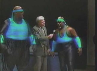 Harlem Knights Don't Fear The Big Boss Man - 1993 USWA Memphis Studio Wrestling