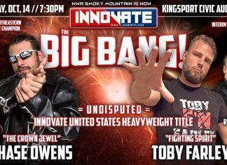 Innovate Wrestling TV #8 - Big Bang Preview