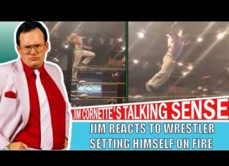Jim Cornette Reacts to a Wrestler Setting Himself on Fire in the Philippines