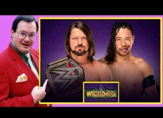 Jim Cornette on AJ Styles vs Shinsuke Nakamura - WWE Title (WWE WrestleMania 34 Review)