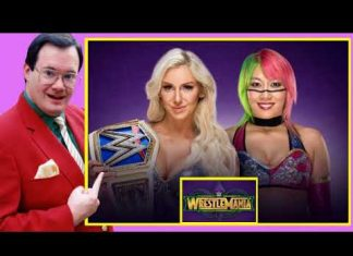 Jim Cornette on Charlotte Flair vs Asuka - Smackdown Women's Title (WWE WrestleMania 34 Review)