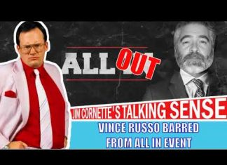Jim Cornette on Vince Russo Being Barred From All In (Thanks to Cody Rhodes)
