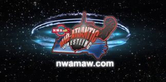 NWA MAW Mothership Logo Sting