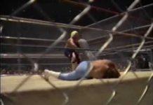 Austin Idol Piledrives Referee Jerry Calhoun - Gratuitous Replay (4-27-87) Mid South Coliseum