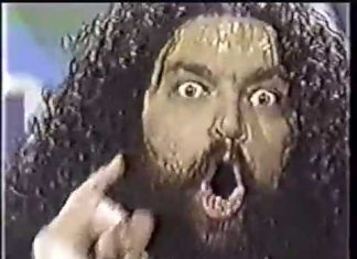 BRUISER BRODY SQUASH  AND INTERVIEW 1982
