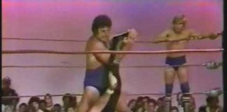 Blond Bombers vs Tommy Gilbert Jr (Eddie Gilbert) and Tony Charles - Part 1 of 2 (6-9-79)