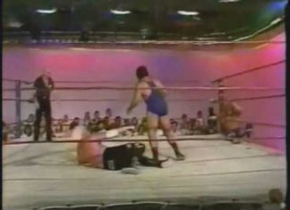Blond Bombers vs Tommy Gilbert Jr (Eddie Gilbert) and Tony Charles - Part 2 of 2 (6-9-79)