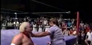 Bloody Studio Brawl - Tommy Rich, Jerry Lawler, Dirty Rhodes, Don Bass (9-27-86) Memphis Wrestling