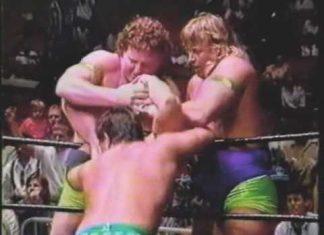 Brian Christopher Knocks Out Jeff Jarrett at Wrestle War - 1993 USWA Memphis Wrestling