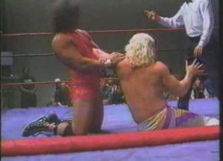Brian Christopher, Scotty Flamingo vs Jeff Jarrett, Danny Davis (2 of 2) 1993 USWA Memphis Wrestling