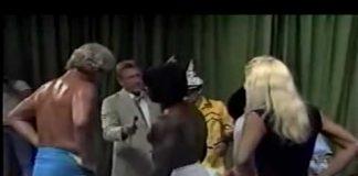 Brickhouse Brown vs Stud Stable - Watermelon Angle 1 of 2 (8-28-88) Memphis Wrestling