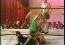 Buddy Wayne blades Dallas Montgomery - Slow Motion Replay (6-16-79) Classic Memphis Wrestling
