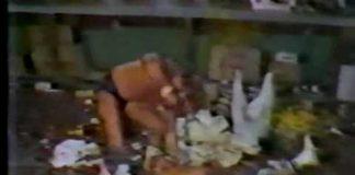 Concession Stand Brawl: Ricky Morton, Eddie Gilbert vs Masa Fuchi, Atsushi Onita (Sept 1981)