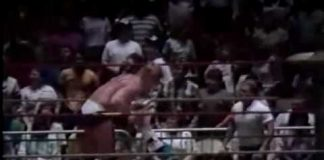 Curt Hennig vs Jerry Lawler (4-4-88) $25,000 Bounty on Lawler's Leg - Memphis Wrestling
