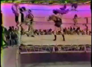 Don Carson, Dennis Condrey vs Tommy Gilbert, Roger Howell (CWA 2-24-79) Memphis Wrestling