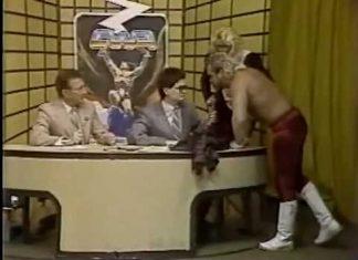 Eddie Gilbert Fireballs Randy Hales (March, 1988) Classic Memphis Studio Wrestling