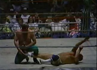 Eddie Marlin vs Tommy Gilbert (Cowboy Boot Match, 4-4-88) Classic Memphis Wrestling