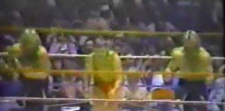 Funny! Jackie Fargo vs Jimmy Hart (Lumberjack Match, 11-8-82) CWA Memphis Wrestling