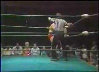 Georgia Wrestling - Lars Anderson vs Bobby Garrett