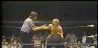 Georgia Wrestling - Steve Keirn vs the Invader
