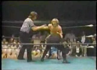 Georgia Wrestling - Steve Keirn vs the Invader