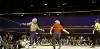 Jerry Jarrett Saves Bill Dundee - Whips Blond Bombers (6-7-80) Classic Memphis Wrestling