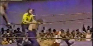 Jerry Lawler, Bill Dundee vs Masa Fuchi, Atsushi Onita (8-1-81) AWA Southern Tag Title Match