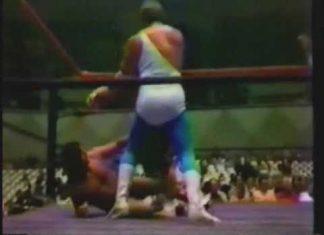 Jerry Lawler, Bill Dundee vs Mr. Fuji, Toru Tanaka (6-4-79) AWA Southern Tag Title Match