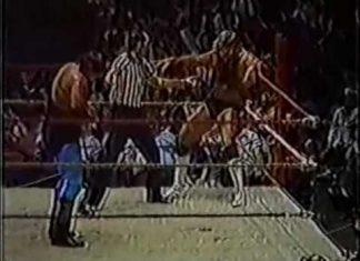Jerry Lawler Fireballs Referee! (vs Michael Hayes, 8-5-85) CWA Memphis Wrestling Replay