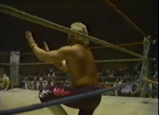 Jerry Lawler vs Eddie Gilbert (Fiery 'No DQ' Match, 3-28-88) Memphis Wrestling