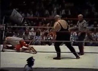 Jerry Lawler vs King Kong Bundy (Jimmy Hart's $10,000 Challenge, 7-16-84) CWA Wrestling