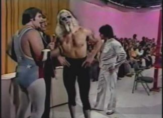 Jimmy Valiant gets punk slapped by Jerry Lawler (11-11-78) Classic Memphis Wrestling Promo