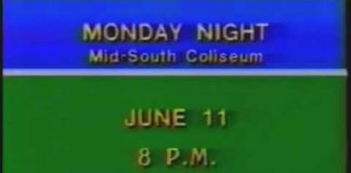 Monday Night's Card for June 11, 1979 - Mid-South Coliseum - CWA Memphis Wrestling