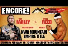 NWA Smoky Mountain TV - 2/18/17 (Toby Farley vs. Myron Reed)
