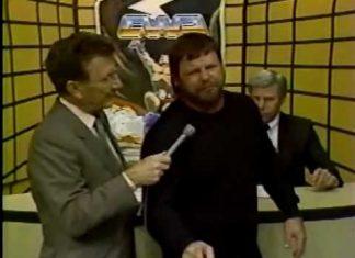 Parking Lot Brawl - Jerry Lawler vs Eddie Gilbert (4-2-88) Memphis Studio Wrestling