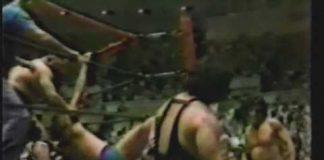 Robert Fuller, Bill Dundee vs Toru Tanaka, Mr Fuji (5-14-79) AWA Southern Tag Title Match