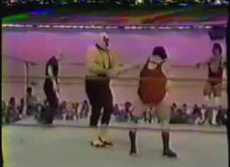 Robert Gibson, Tommy Gilbert vs The Assassins w Gorgeous George Jr (2-17-79) Memphis Wrestling