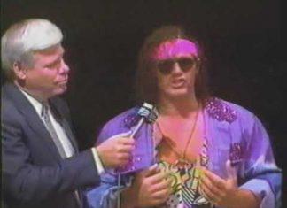 Scotty Flamingo (Raven) Raps, Jerry Lawler Retorts - 1993 USWA Memphis Studio Wrestling
