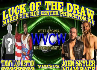 WVCW Main Event Episode 1- West Virginia Championship Wrestling - March 3 2016