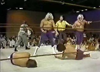 Wayne Farris, Larry Latham vs Bill Dundee, Tony Boyles - 2of2 (6-7-80) Memphis Wrestling