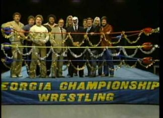 Wrestling Holiday wishes 1982