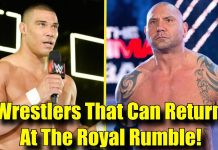 10 SHOCKING Wrestlers That Can Make An Appearance At The Royal Rumble!