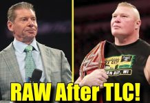 5 Things WWE Can Do On The Raw After WWE TLC!