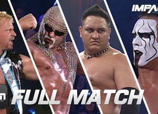 Samoa Joe & Sting vs Scott Steiner & Jeff Jarrett: FULL MATCH (Sacrifice 2006) | IMPACT Full Matches