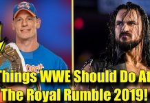 10 Things WWE NEEDS To Do At The Royal Rumble! (2019)