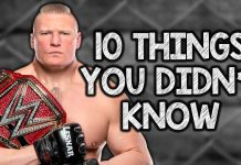 10 Things You Didn't Know About Brock Lesnar